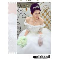 Wholesale white cotton Ladies Wedding Dresses for yong girl from china suppliers