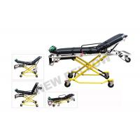 Wholesale NEW ! Multi - Lever Aluminum Alloy X - frame first aid stretcher chair with 35° Knee Angle from china suppliers