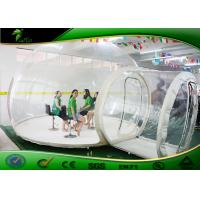 Wholesale EN71 Giant Dome Tent Inflatable Igloo Tent Anti - UV Transparent from china suppliers