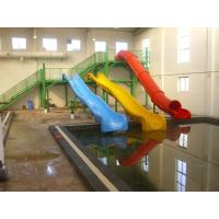 China Fiberglass Kids' Water Slides , Commercial Water Slides for Resort Water Pool / Kids Water Park on sale