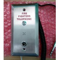 Quality Weatherproof Industrial Analog Telephone , Fire Fighting Telephone System for sale