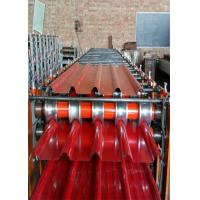 Wholesale Bamboo Profile Roof Ceiling Metal Sheet Tile Roll Forming Machine With 0.3-0.7mm Raw Material, 5 peaks from china suppliers