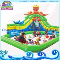 Wholesale Inflatable Mobile Water Amusement Park, Inflatable Octopus Water Slide Pool Park from china suppliers