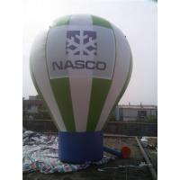 China cheap inflatable ground balloon,advertising inflatable balloon,rooftop advertising balloon with LOGO and banner on sale