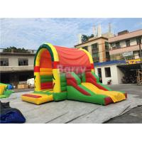 Wholesale Clearance Inflatable Bouncer , Beautiful Jump House With Small Slide from china suppliers