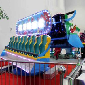 3-3.3m Commercial Kids Amusement Ride , Double Side Crazy Wave Ride