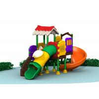 Durable Kids Outdoor Play Gym Sets , Childrens Plastic Playground Equipment