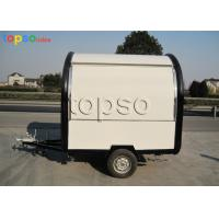 China Fire Resistant Mobile Food Trailer / Mobile Restaurant Trailer Customized Dimensions on sale