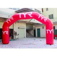 Wholesale Nylon / Oxford  Custom Inflatable Arch Double Stiching / Sewing Technique from china suppliers