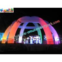 China Color Change Tent Inflatable Lighting Decoration For Wedding , 6M on sale