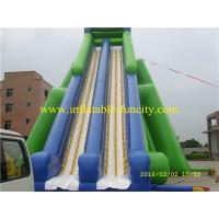 Wholesale Big Kahuna Inflatable Water Slide , Inflatable Dry Slides for Children and Adult from china suppliers