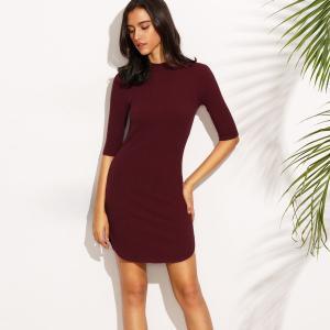 Quality Wholesale Fashion Women Sexy Mini Bodycon T-Shirt Women Dress for sale