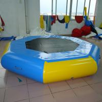 Wholesale Elastic Inflatable Water Trampoline , Adult Inflatable Water Park from china suppliers