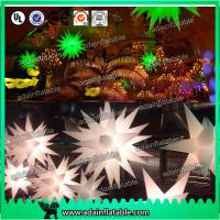 Wholesale 2m Green/White Event Infatable Decoration LED lighting Star For Club from china suppliers