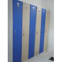 Wholesale 1 Tier Bule Employee Storage Lockers PVC Material With Master Combination Padlock from china suppliers