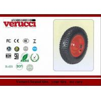 Wholesale 6.00 - 6 Pu Barrow solid Rubber Wheel 147MM × 377MM For Sack Truck from china suppliers