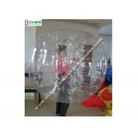 China Transparent Outdoor Big Inflatable Hamster Ball For Humans / People on sale