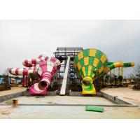 Wholesale Colorful Tornado Water Slide Fiberglass Customized Safety Equipment from china suppliers