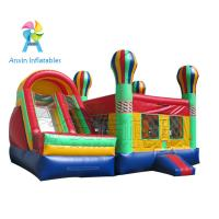 Buy cheap Cheap big inflatable adult bounce house with slide for rental from wholesalers