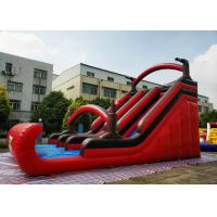 Wholesale Silk Printing Large Pirate Inflatable Slip Slide For Backyard Activities from china suppliers