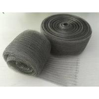 Wholesale 98% Efficiency Stainless Steel Knitted Wire Mesh Demister Pad Flat / Corrugated Surface from china suppliers