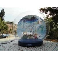 China CE Outdoor Snow Globe Inflatable / Airblown Snow Globe For Events on sale