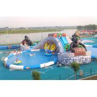 China 2014 large inflatable pool slide,giant inflatable pool water slide for sale on sale