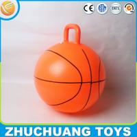 """Wholesale 18"""" plastic basket balls bouncy for kids from china suppliers"""