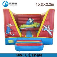 Wholesale Indoor Inflatable Bounce House Customized Size PVC Tarpaulin Material from china suppliers
