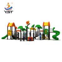 Residential Area Kids Playground Slide Sand Blasting Craft ISO Certification