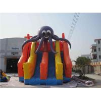 Wholesale Funny Jellyfish Inflatable Water Park With Three Slides Customized from china suppliers