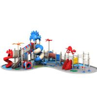 Safety Kids Outdoor Playground Equipment With Bright Colors TQ - ZLJ108A