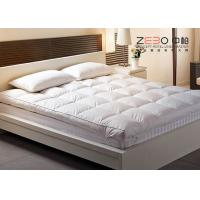 Wholesale Goose Down Soft Massage Mattress Topper King Size For Hotel / Home from china suppliers