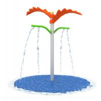 Wholesale Sand Blasting Water Park Playground Equipment Double Leaf Water Jet from china suppliers