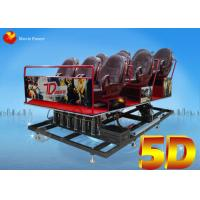 Wholesale Back Poking / Air Injection 5D Motion Theater Mobile Cinema Truck 2.25KW 220V from china suppliers