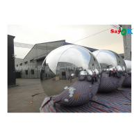 Wholesale Lightweight Silver Dia 2m Inflatable Balloon For Advertising Easy To Carry from china suppliers