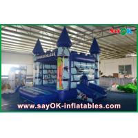 China Durable PVC Inflatable Bounce Castle House Funny Halloween Pumpkin For Kids on sale