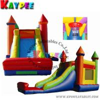 Wholesale KCB014-4 in 1 combob- 33'L x 15'W ,inflatable combo game,inflatable bouncer with slide from china suppliers
