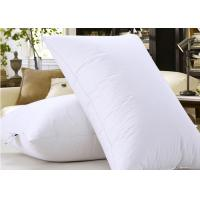 Wholesale Microfiber Filling Hotel Collection Pillows For Nursing / Sleeping Rectangle Shape from china suppliers