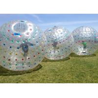 Wholesale Wear Resisting Inflatable Human Ball , Giant Inflatable Hamster Ball Diam 2.8m from china suppliers