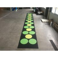 Wholesale Recycled Outdoor Rubber Mats , 15-60mm Thickness Rubber Gym Flooring Tiles from china suppliers
