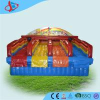 Red Rentals Big Inflatable Water Slides Rentals For Kids Open Air