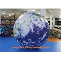 Wholesale Oxford / PVC Material Giant Inflatable Earth Globe 2m Diameter For Advertising from china suppliers