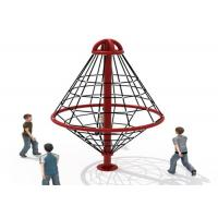 Outdoor Climbing Rope Structures / Kids Climbing Net Easy To Install  KP-PW025