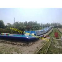 Wholesale giant slip n slide 1000ft city slide water slide from china suppliers