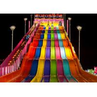 Wholesale Hotels Big Water Slides / Fiberglass Pool Slide For Outdoor Water Parks from china suppliers