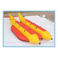 Wholesale New Inflatable Water Floating Banana Boat for Amusement Park from china suppliers