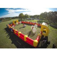 China 1.0mm TPU Human Hamster Bumper Ball , Outdoor Toys Inflatable Body Ball For Kids And Adult on sale