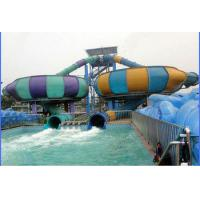 Wholesale 13m Height Pool Water Slides , Fiberglass Space Bowl Slide For Water Park Entertainment from china suppliers