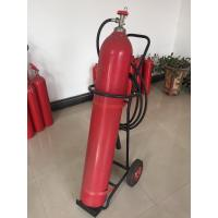 Wholesale Portable Co2 Fire Extinguisher , 10kg Trolley Type Fire Extinguisher For Supermarkets from china suppliers